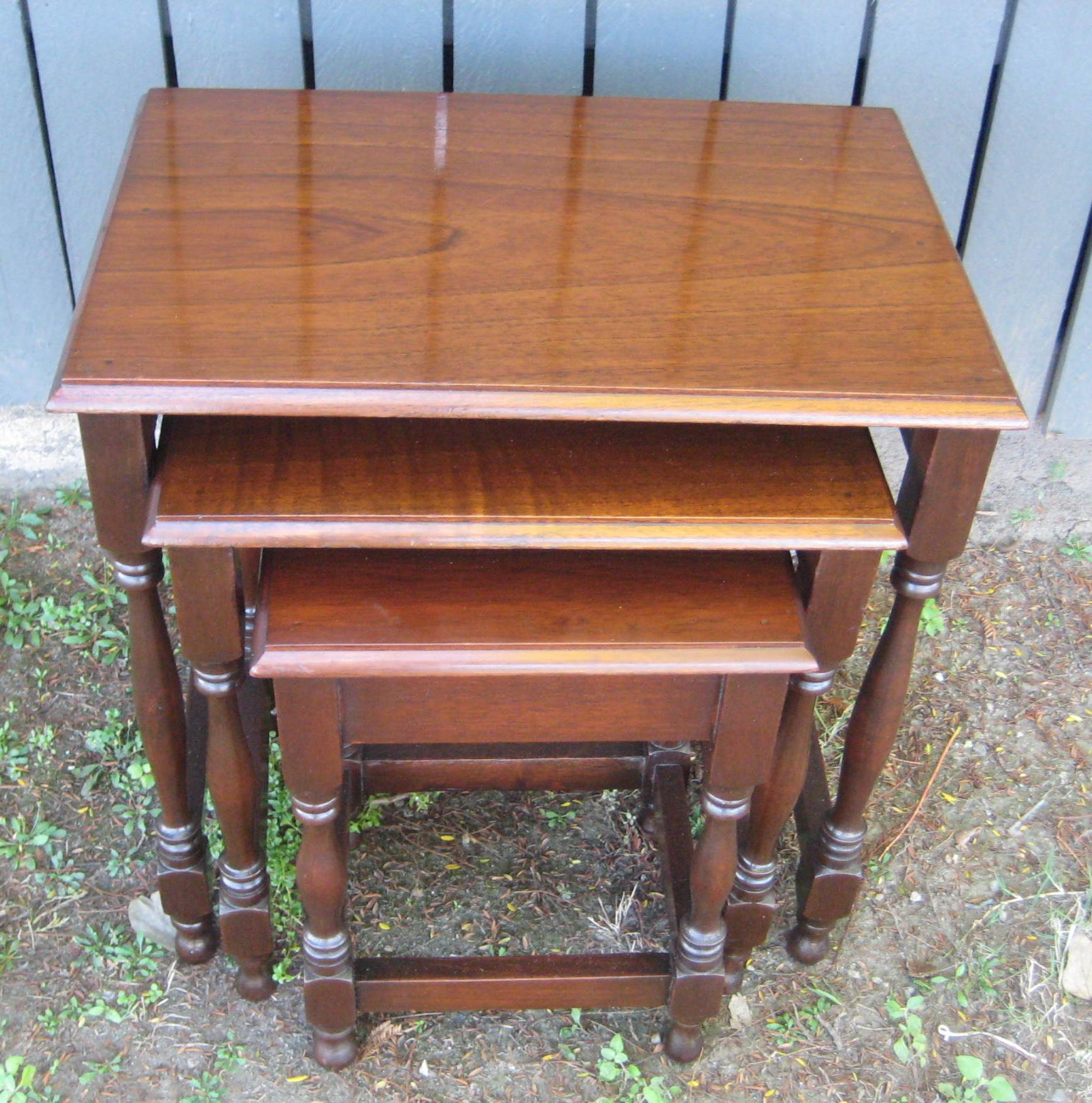 Cedar Nest of Tables   SOLD