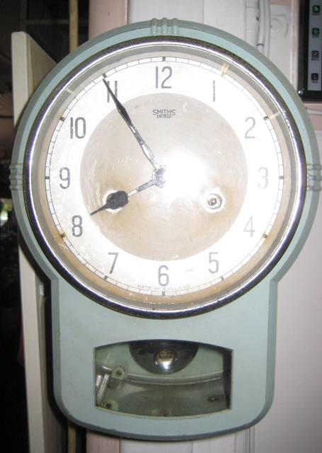 1950's Wall Clock   SOLD
