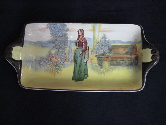 Royal Doulton Loaf Plate