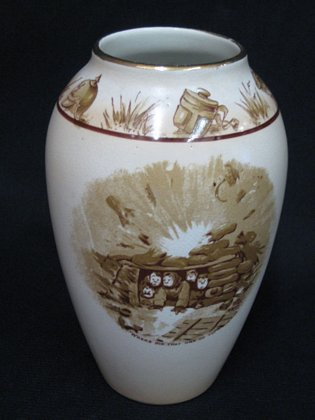 Grimwades 'Old Bill' Vase