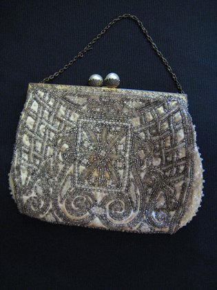 Beaded Evening Bag   SOLD
