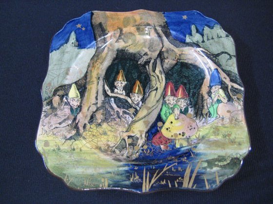 Royal Doulton Gnomes Plate