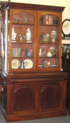 Colonial Cedar Bookcase   SOLD