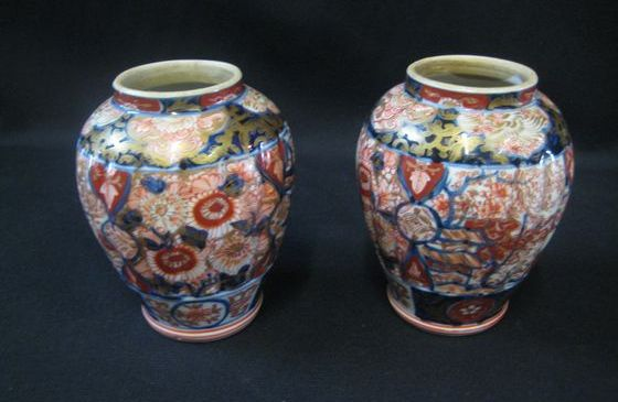 Pair of Imari Vases   SOLD