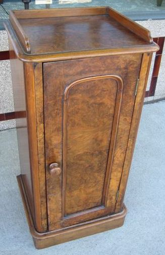 Burr Walnut Cabinet   SOLD