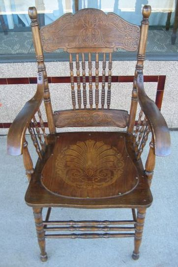 American Wave Back Chairs   SOLD
