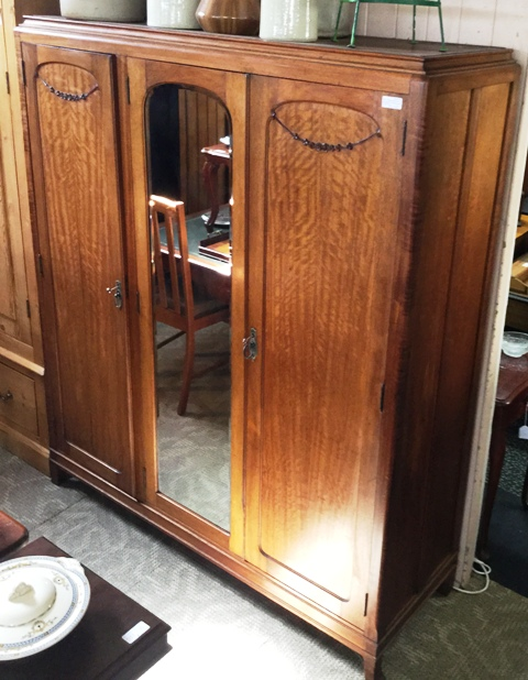 Ed Rosenstengel Maple Wardrobe