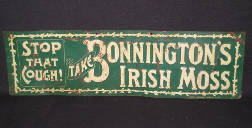 Original Tin Sign