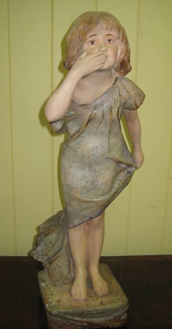 Plaster Figurine   SOLD