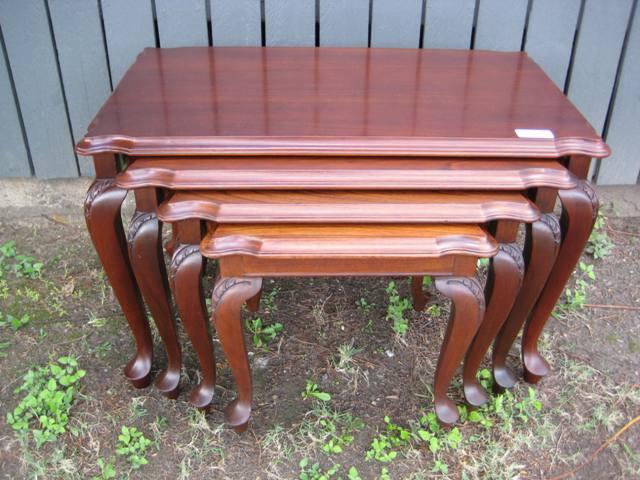 Harvey bros nest of tables sold watchthetrailerfo