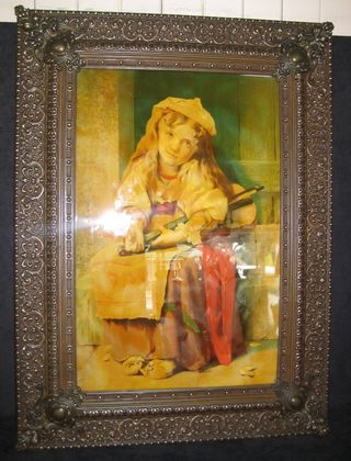 Brass Frame   SOLD