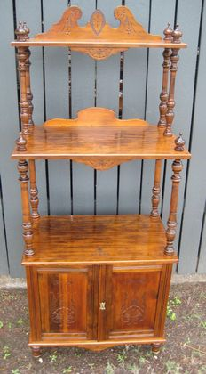 Bunya Pine Parlour Cabinet   SOLD