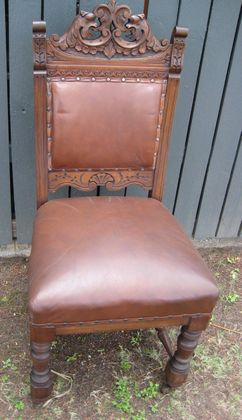 Blackwood Dining Chairs   SOLD