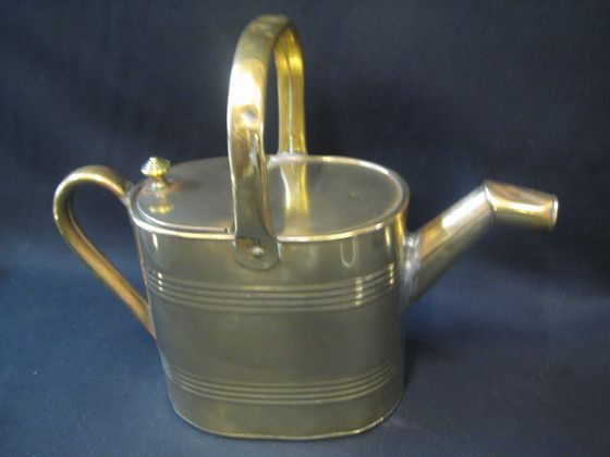 Brass Watering Can   SOLD