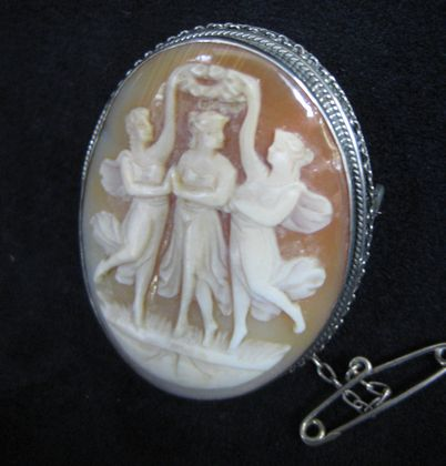Cameo Brooch   SOLD