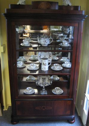 19th Century Display Cabinet   SOLD