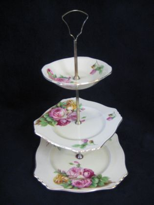 3 Tier Cake Stand   SOLD