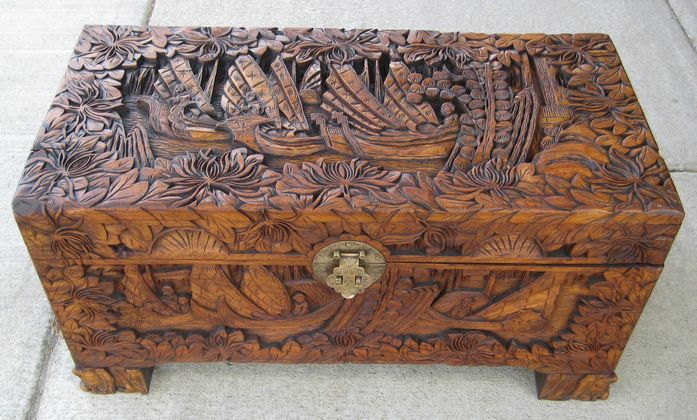 Camphor Trunk   SOLD