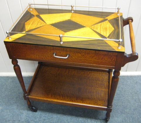 Art Deco Tea Trolley   SOLD