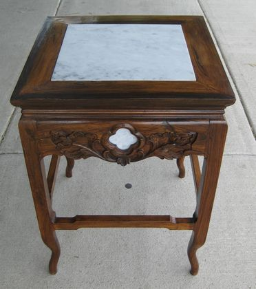Chinese Rosewood Side Table   SOLD